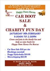 Car Boot Sale & Charity Fun Day