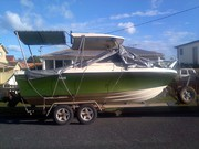 Cabin Cruiser 18ft and Trailer