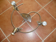 Fancy brushed metal GV10 Light fitting