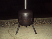 Fire Pit Chimanea  size is 9kg gas bottle home made & brand new only 2